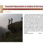 Nueva Convocatoria de Reunión con los Representantes de Saltadores de Gran Canaria - Federación de Salto del Pastor Canario - Marzo de 2011 - Gran Canaria - Islas Canarias.