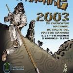 XII E.N.S.P.C. Benahoare 2003 - La Palma - Archipiélago Canario (Del 6 al 9 de Diciembre de 2003).