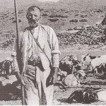 Cabrero con su lanza y ganado en Las Cañadas del Teide - Revista El Pajar (2006) - Tenerife - FSPC - Archipiélago Canario (Primera mitad del Siglo XX).