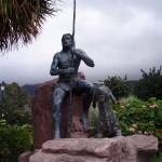Escultura - II E.I.S.P.C. Caldera de Tirajana - Santa Lucía de Tirajana - Gran Canaria (Marzo de 2009).