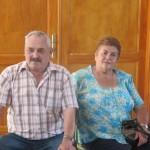 El Pastor Manuel Martín 'Tuturra' y Señora en el XXI E.N.S.P.C. 'Taburiente 2012' - El Paso - La Palma - F.S.P.C. - Islas Canarias (Agosto de 2012).