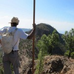 Ruta-Encuentro de Cruz Grande a Ayagaures – Jurria Jaira y Federación de Salto del Pastor Canario – Foto de Mario Rodríguez – San Bartolomé de Tirajana – Gran Canaria (12 de Octubre de 2011).