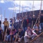 I Encuentro Insular de Salto del Pastor Canario 'Teno Alto 2002' - Colectivo Aguere y Federación de Salto del Pastor Canario - Buenavista del Norte - Tenerife - Islas Canarias (Abril de 2002).