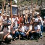 Junta de Ganado y Fiesta de los Pastores 2002 – Federación de Salto del Pastor Canario – La Dehesa – La Frontera – El Hierro – Archipiélago Canario (Abril de 2002).