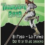 Cartel del XXI E.N.S.P.C. 'Taburiente 2012′ - El Paso - La Palma - Archipiélago Canario (Agosto de 2012).