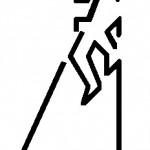 Primer Logo de la Federación de Salto del Pastor Canario (2001).