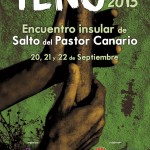 Cartel del III E.I.S.P.C. 'Teno 2013' - Colectivo Aguere - Tenerife - Archipiélago Canario (Septiembre de 2013).