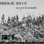 Inscripción y Cartel del II E.I.S.P.C. de Güímar 'Chimaje 2013' - Colectivo Aguere - Tenerife (Noviembre de 2013).