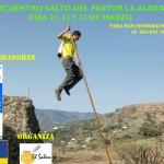 Cartel del XV E.I.S.P.C. 'La Aldea 2014' - Jurria El Salem - Gran Canaria.