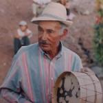 El Poeta Popular y Curandero Gomero Don Juan Santos Negrín (1917-2004) - Foto del Colectivo Tagaragunche.com - Arure y Valle Gran Rey - La Gomera - FSPC - Archipiélago Canario (Finales del Siglo XX).