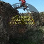 Cartel e Información del II E.I.S.P.C. Tamadaba 2014 - Jurria Guanil - Agaete - Gran Canaria (Del 17 al 19 de Octubre de 2014).