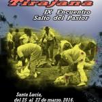 Cartel e Información del IX E.I.S.P.C. 'Caldera de Tirajana 2016′ – Jurria Humiaga – Del 25 al 27 de Marzo de 2016 – Santa Lucía de Tirajana – Gran Canaria – Islas Canarias.