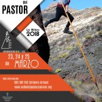 Cartel del XIX Encuentro Insular de Salto del Pastor Canario 'La Aldea 2018′ – Jurria El Salem – La Aldea de San Nicolás – Gran Canaria – Archipiélago Canario (Del 23 al 25 de Marzo de 2018).