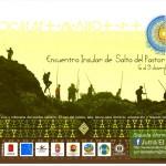 Cartel e Información del Encuentro Insular de Salto del Pastor Canario 'Lanzarote 2018' – Jurria El Salem y Federación de Salto del Pastor Canario - Haría y Tinajo - Lanzarote - Archipiélago Canario (Del 6 al 9 de Diciembre de 2018).