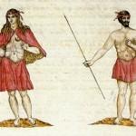 Gomeros, indígenas de Gomera – Leonardo Torriani – Isla de La Gomera – Archipiélago Canario (1590-1595).